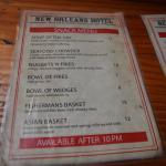 A quick feed menu