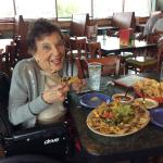 Nachos! With Mom!