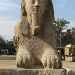 Alabaster Sphinx Foto