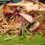 Mock Chicken Papaia Salad