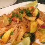 Mock Chicken Pad Thai
