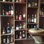 un choix de Rhum et whisky de la cave