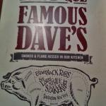 Bild från Famous Daves