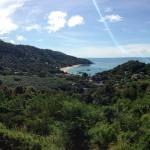 view of kantiang bay from yellow villa