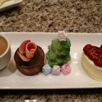 Holiday dessert sampler