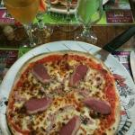pizza carpacio et pizza périgore exelente !!!