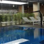 kleiner Pool im Spa Bereich