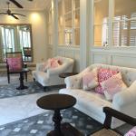 hotel interior at Pink Sand