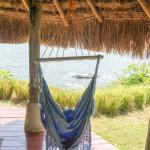 You can watch the ocean from your bungalow swing chair.