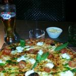 Vraiment excellente cette pizza. ..  ca faisait longtemps que je me suis pas autant regalé