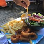 Playa Bluff Beach Restaurant Foto