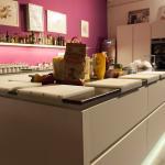 Die Küche bevor wir sie betreten haben :)