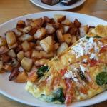 Mediterranean Omelette at Sunset Grill Oakville
