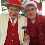 Make sure to get a greeting from Richard out front of the Grand Floridian!!!