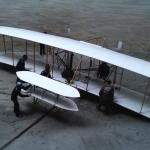 The Wright Brothers' flyer