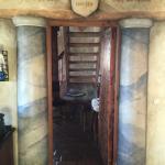 Durchgang zum Kinderzimmer und Turmzimmer