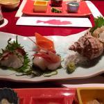 Tasty fresh Sashimi
