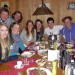 Weihnachtsfeier Skischule Ötztal - Fondue