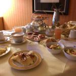 Zimmerfrühstück wirklich lohnenswert!