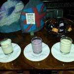 choice of yogurts