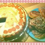 Carott Cake & Cinnamon Rolls