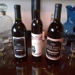 I won the Trifecta........take all three home.....Great local wine