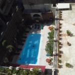 Desde mi habitación , piscina  de planta baja