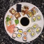 Sushi sushi sushi yum yum yum