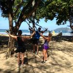 Saltwater Workout on beach- brilliant
