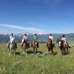 Horseback day trip