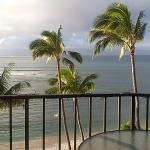 View straight out the lanai