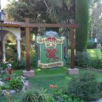 Casa de te- Ingreso al parque