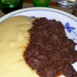 Spezzatino di asino con polenta