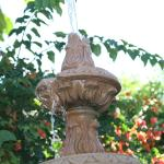 fountain by entrance