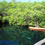 The Lagoon with kayaks