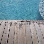 Poolside flooring