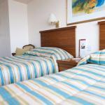 comfortable beds; modern decor