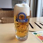 3度注ぎのビール