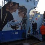 Zubringer - Schiff, zum Musical.