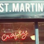 Crafty is in St Martin's coffee shop Thu-Sat evenings
