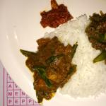 Chicken Chettinad and Mutton Kari