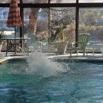 Free off site use of pool that is located a block away.