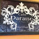Cafe Paraiso Sign