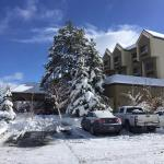 Leaving the hotel after a 3 day snow storm