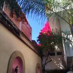 Courtyard at Casa de las Bugambilias