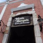 Entrance to El Meson del Marques