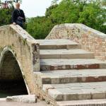pont sur le canal de l'île