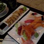 Sushi/sashimi + Gyoza + Edamame