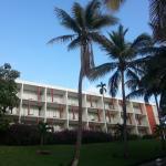 Belle architecture communiste qui rappelle les hôtels de Cuba