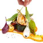 Parrillada de verdura con salsa Romescu